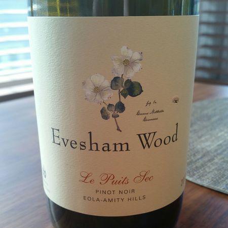 Evesham Wood Le Puits Sec Eola-Amity Hills Pinot Noir 2013