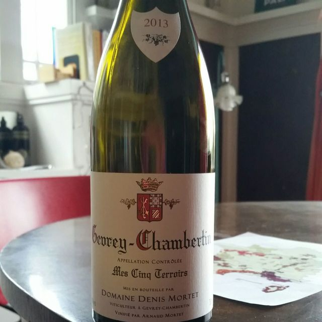 Mes Cinq Terroirs Gevrey-Chambertin Pinot Noir 2013