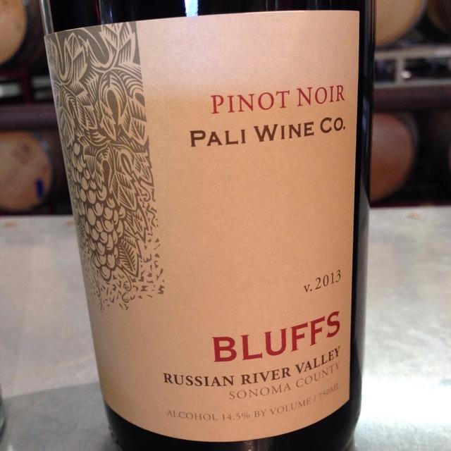Bluffs Russian River Valley Pinot Noir 2013