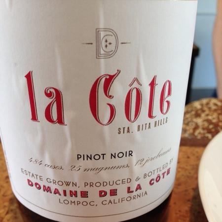 Domaine de la Côte La Côte Sta. Rita Hills Pinot Noir 2014