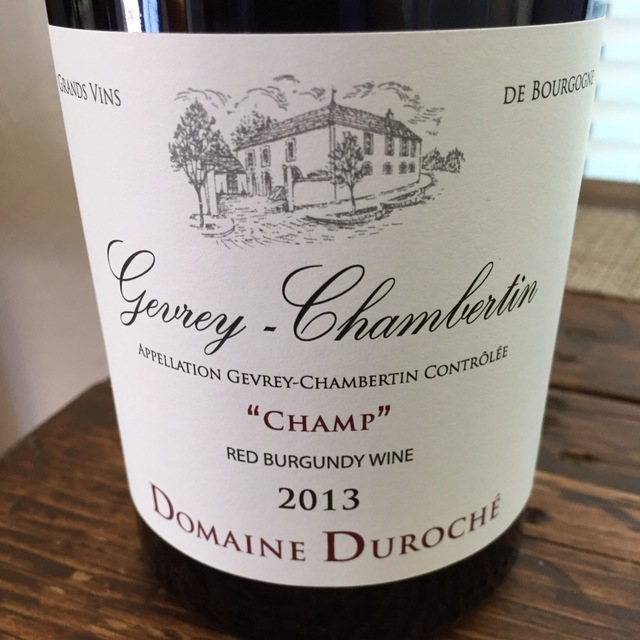 Champ Gevrey-Chambertin Pinot Noir 2013