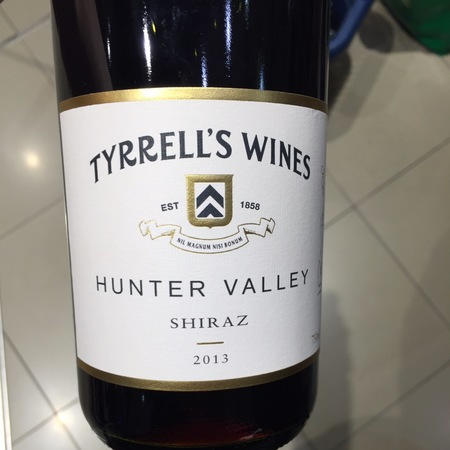 Tyrrell's Wines Hunter Valley Shiraz 2014