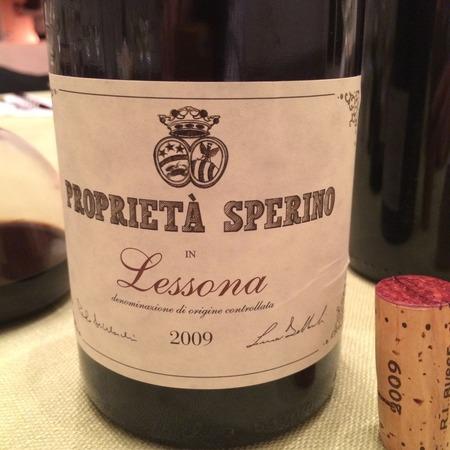 Proprieta Sperino Lessona Nebbiolo 2008