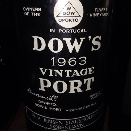 Dow's Vintage Porto Port Blend 1963