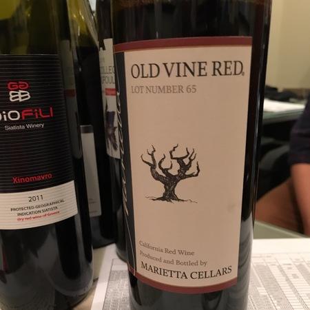 Marietta Cellars  Old Vine Lot Number 65 Red Blend NV