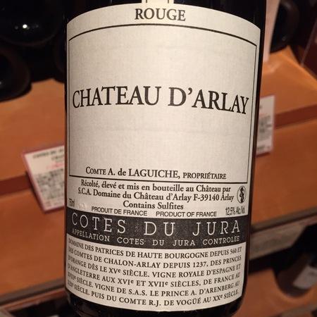Château D'Arlay Côtes du Jura Rouge Pinot Noir 2011