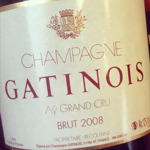 Grand Cru Brut Champagne Blend 2008