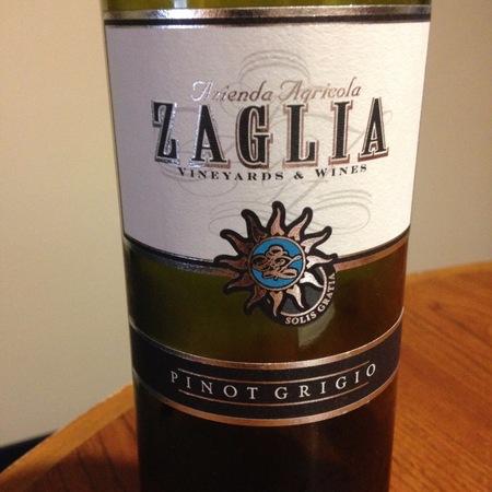 Azienda Agricola Giorgio Zaglia Pinot Grigio 2016