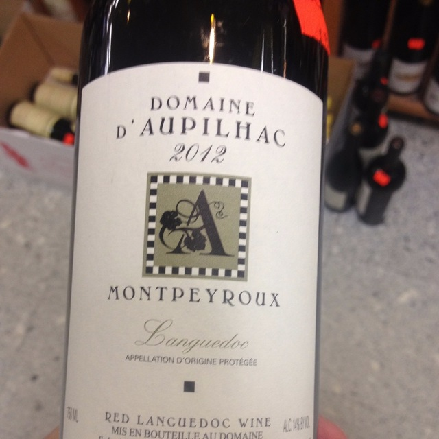Montpeyroux Languedoc Red Blend 2013