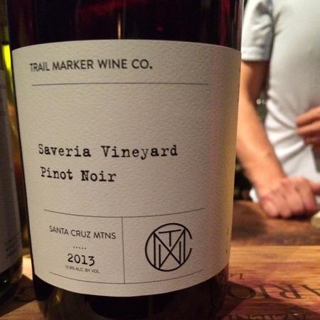 Trail Marker Wine Co. Saveria Vineyard Pinot Noir 2015