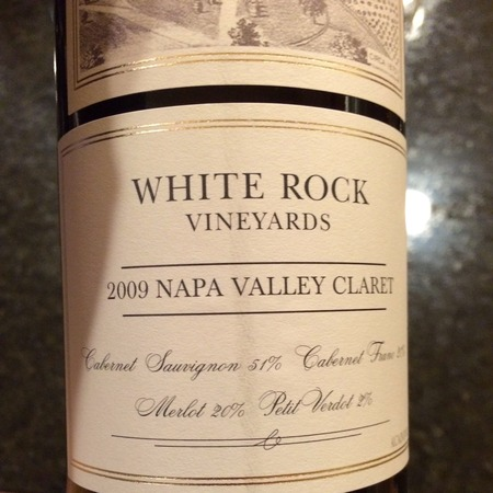 White Rock Vineyards Napa Valley Claret Cabernet Sauvignon Blend 2014