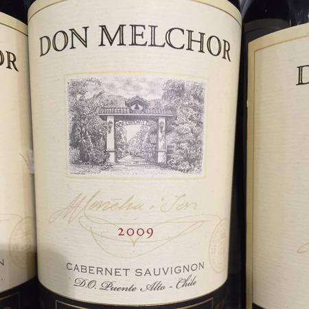Concha y Toro Don Melchor Puente Alto Vineyard Cabernet Sauvignon 2009