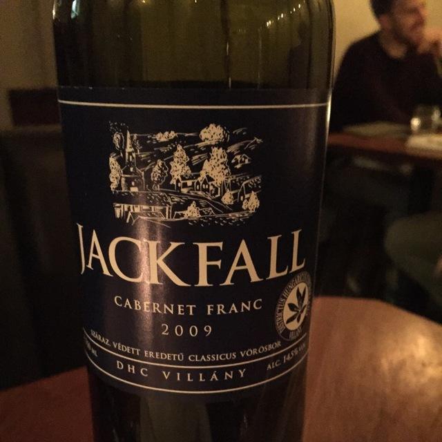 Jackfall Cabernet Franc 2009