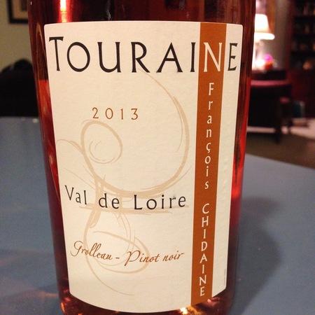 François Chidaine  Touraine Grolleau Pinot Noir Rosé 2016