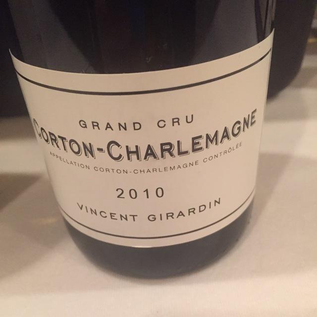 Corton-Charlemagne Grand Cru Chardonnay 2013