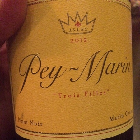Pey-Marin Trois Filles Pinot Noir 2013