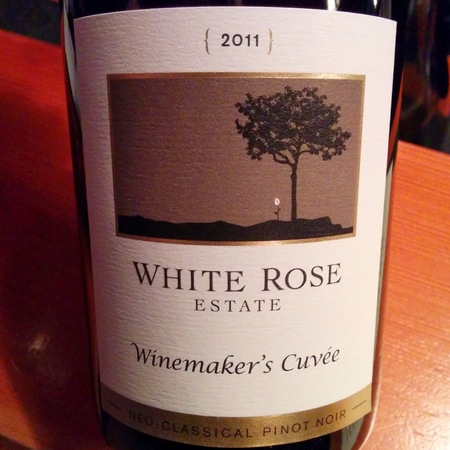 White Rose Estate Winemaker's Cuvée Pinot Noir 2014