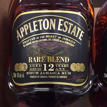 Appleton Estate Rare Blend Aged 12 Years Jamaica Rum NV
