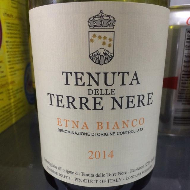 Etna Bianco Carricante Blend 2014