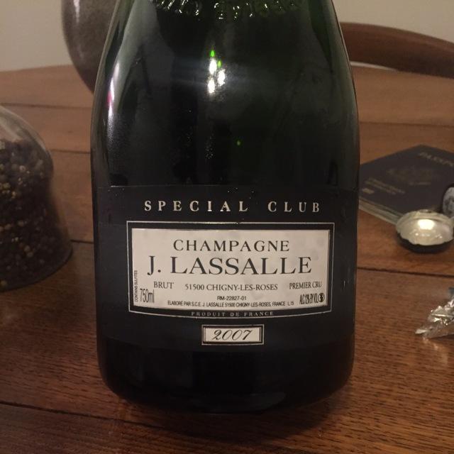 Special Club Brut 1er Cru Champagne Blend 2007