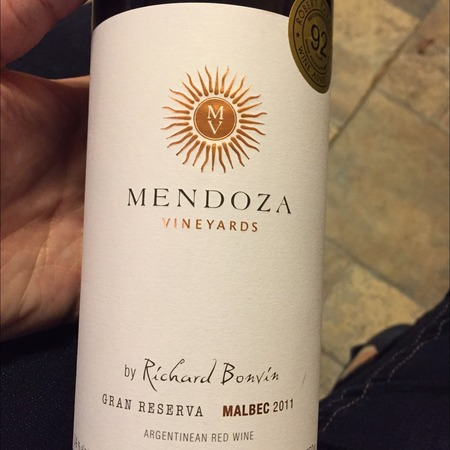 Mendoza Vineyards Gran Reserva Mendoza Malbec 2011 (750ml 12bottle)