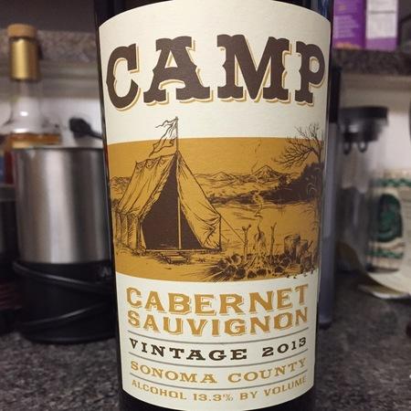 Hobo Wine Company Camp Sonoma County Cabernet Sauvignon 2016