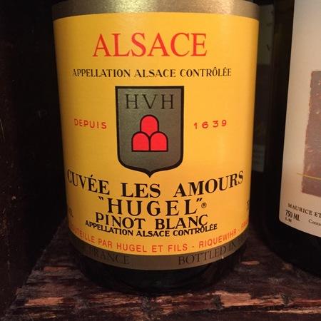 Hugel et Fils Cuvée Les Amours Alsace Pinot Blanc 2014