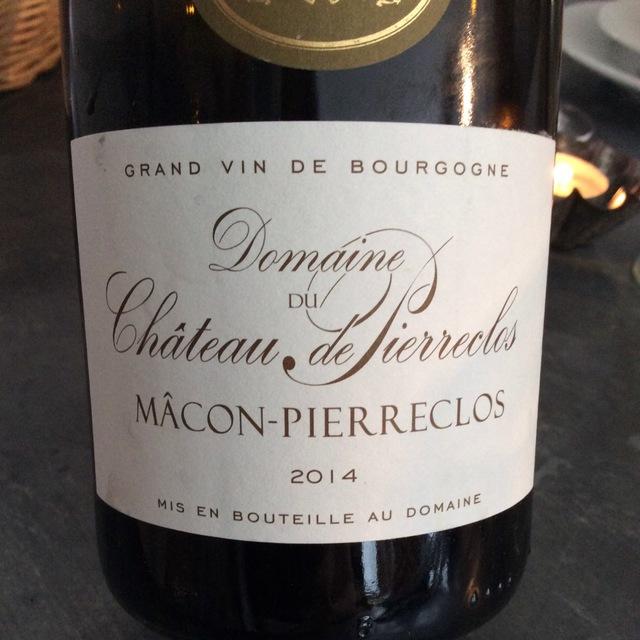 Mâcon-Pierreclos Chardonnay 2014