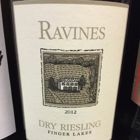 Ravines Wine Cellars Finger Lakes Dry Riesling  2015