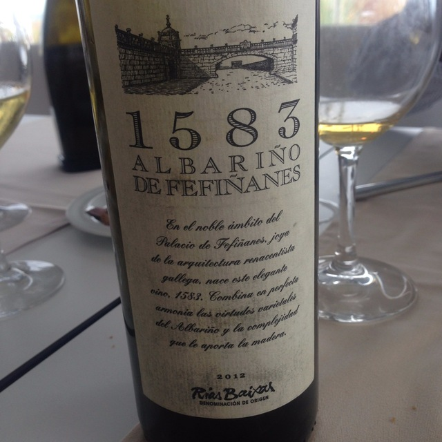 1583 Albariño de Fefiñanes  2014