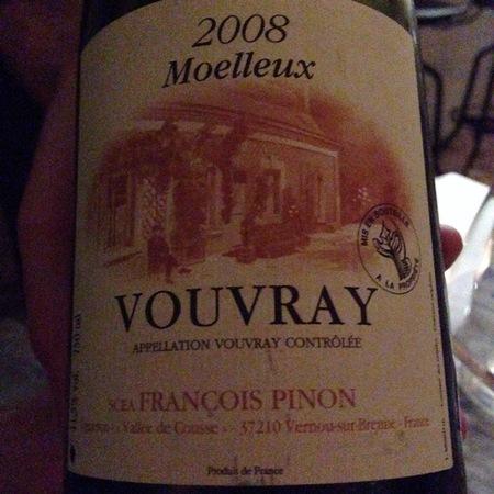 François Pinon Vouvray Moelleux Chenin Blanc 1989