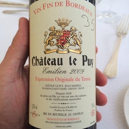 Château Le Puy Emilien Côtes de Francs Red Bordeaux Blend 2013