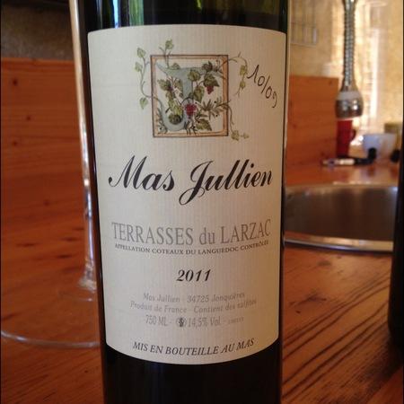 Mas Jullien Coteaux du Languedoc Les Terrasses du Larzac 2011