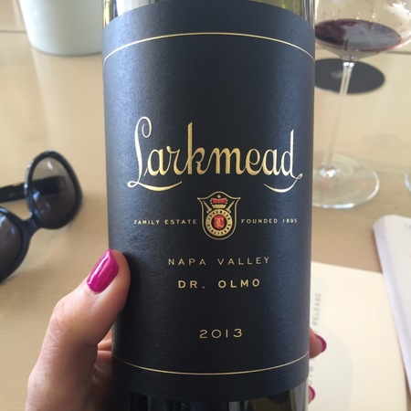 Larkmead Vineyards Dr. Olmo Napa Valley Cabernet Sauvignon 2013