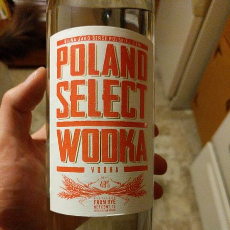 Wodka Poland Select Vodka NV