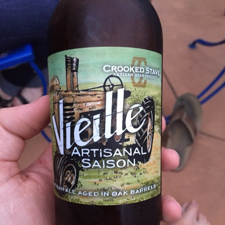 Crooked Stave Vieille Artisanal Saison NV (375ml)