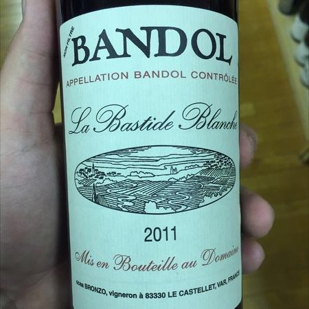 La Bastide Blanche Bandol Mourvedre Blend NV