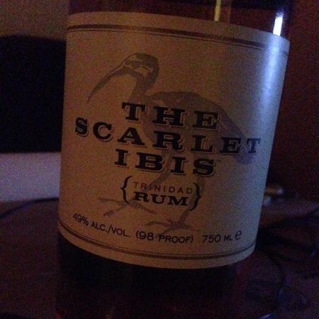 The Scarlet Ibis Trinidad Rum NV