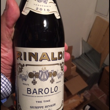 Giuseppe Rinaldi Tre Tine Barolo Nebbiolo 2013