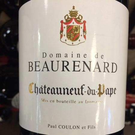 Domaine de Beaurenard (Paul Coulon et Fils) Châteauneuf-du-Pape Red Rhône Blend 2015