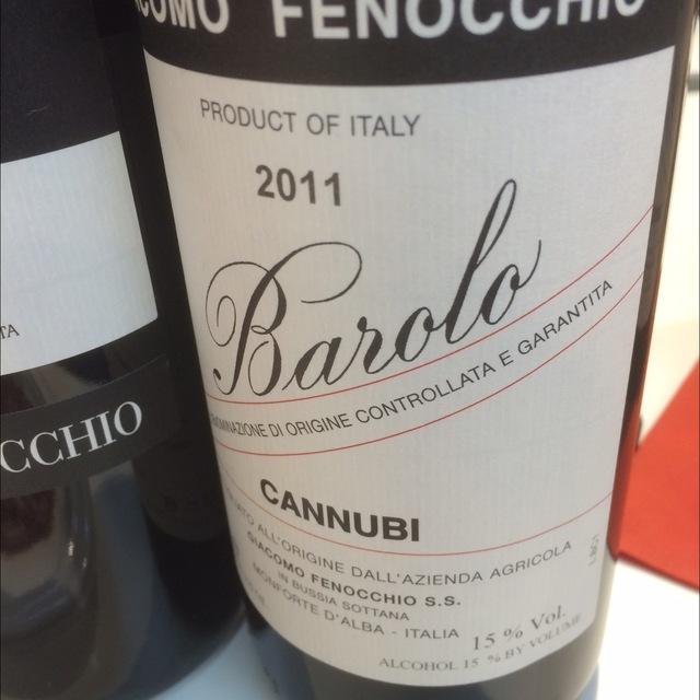 Cannubi Barolo Nebbiolo 2011