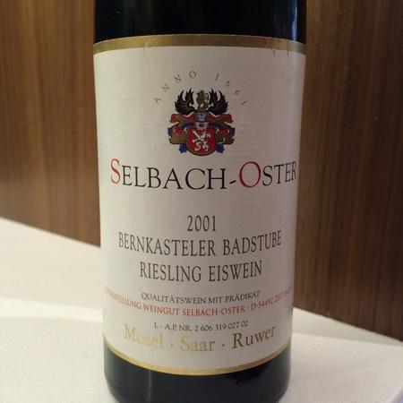 Selbach-Oster Bernkasteler Badstube Eiswein Riesling  2001 (375ml)