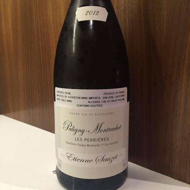 Les Referts Puligny-Montrachet 1er Cru Chardonnay 2012