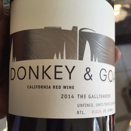 Donkey and Goat The Gallivanter California Red Blend 2015