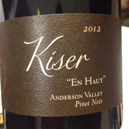 Copain Kiser En Haut Anderson Valley Pinot Noir 2012