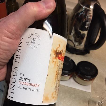 Lingua Franca Sisters Willamette Valley Chardonnay 2015
