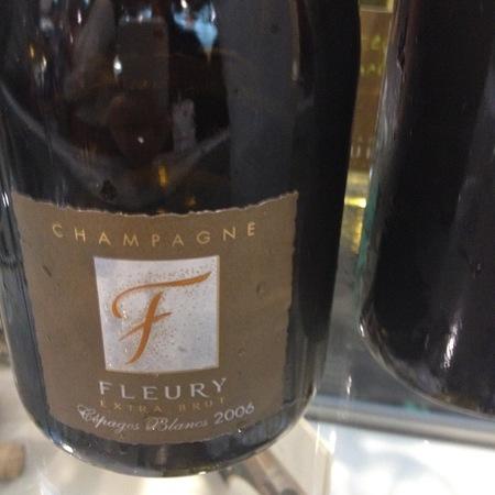 Fleury Pere & Fils Cépages Blancs Millésimé Extra Brut Champagne  2006