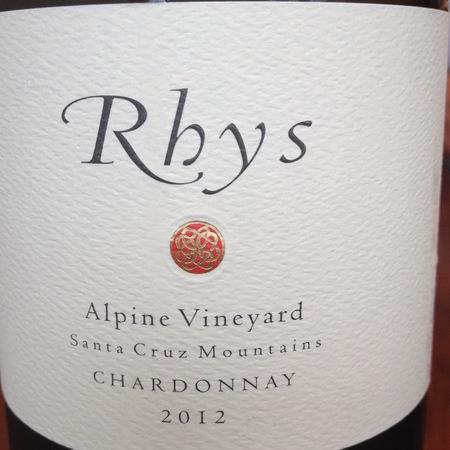 Rhys Vineyards Alpine Vineyard Chardonnay 2012