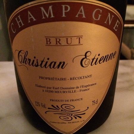 Christian Etienne Brut Champagne NV