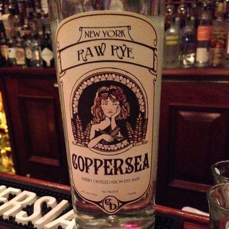 Coppersea Distilling New York Raw Rye NV